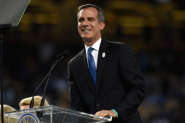 Garcetti to Announce Support for Prop 4