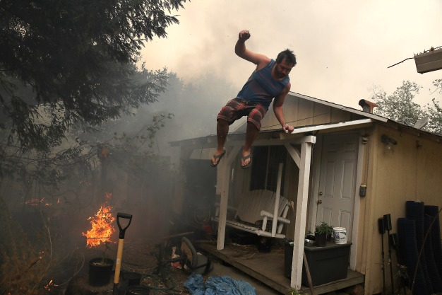Grief, Shock Left in Paths of Northern CA Wildfires