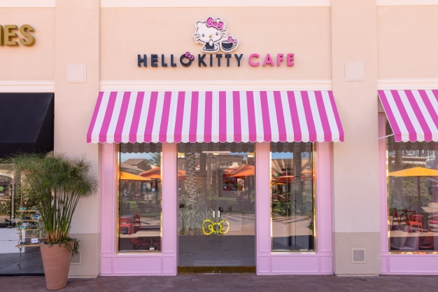 Photos: Inside the US's First Ever Hello Kitty Grand Cafe
