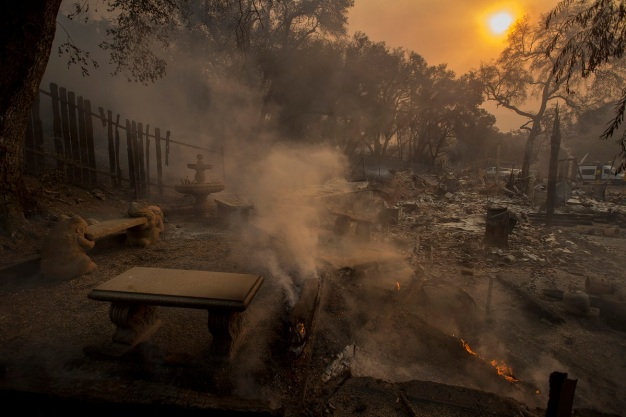 Northern California Fire Death Toll Climbs to 86
