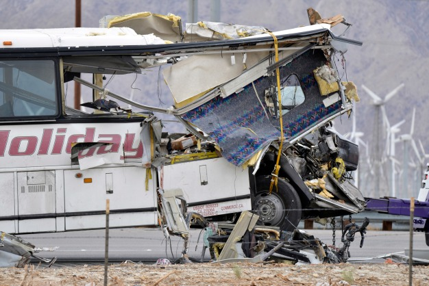 Authorities Investigating Driver's Actions Before Bus Crash