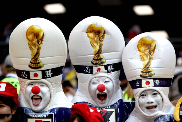 World Cup Fan Photos: Scenes in the Stands From Colombia v. Japan