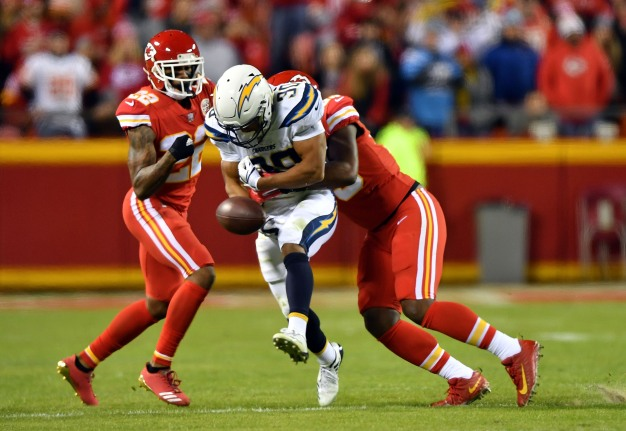 Chargers Can't Get Out of Their Own Way in Kansas City
