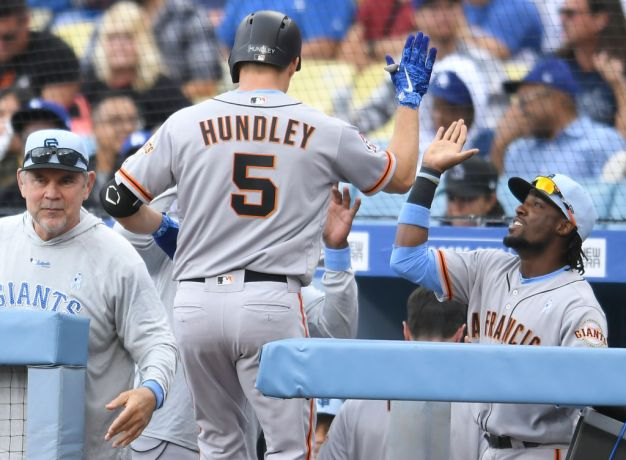 Giants Damper Father's Day for Dodgers