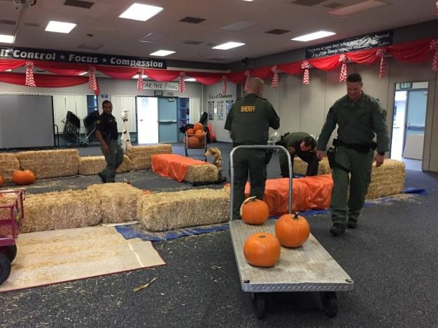 Deputies Surprise Special-Needs Students With Pumpkin Patch