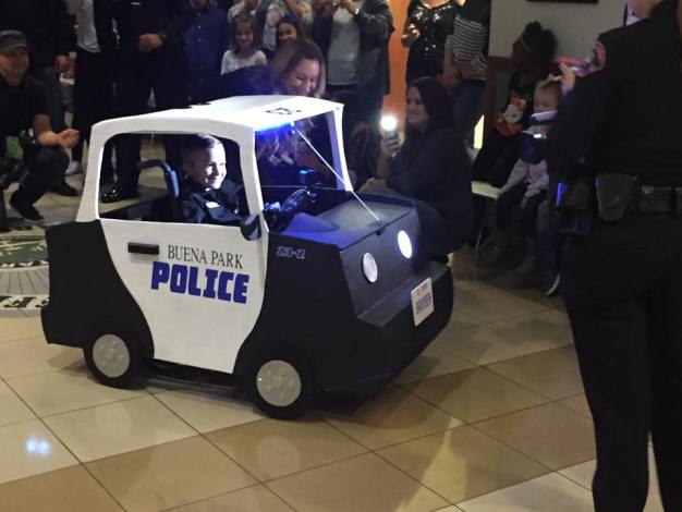 Ontario Police Give 5-Year-Old Boy Surprise Gift