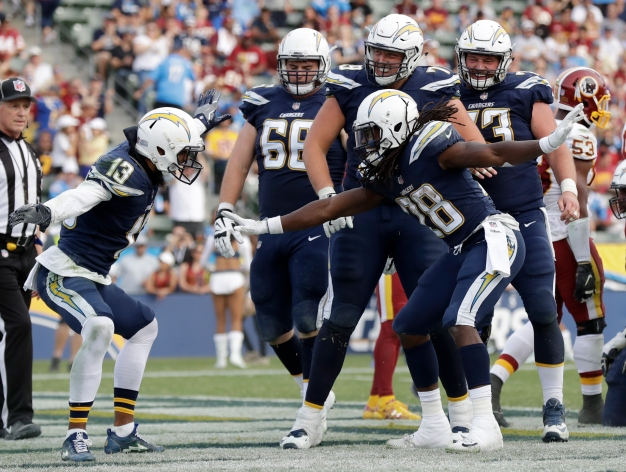 Chargers Destroy Washington and Now Focus on Chiefs