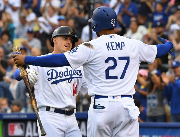 Kemp and Hernandez Homer Again as L.A. Beats S.F.