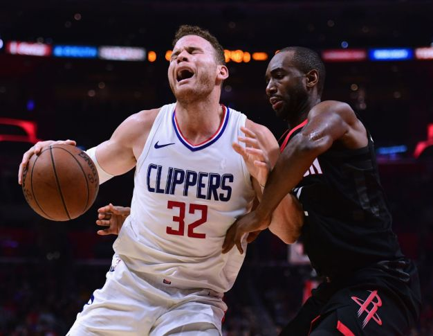 Rockets Players Try to Enter Clippers Locker Room After Loss
