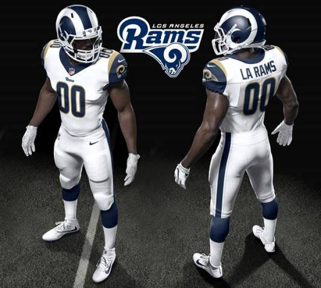 Los Angeles Rams Unveil New Uniforms for 2017 Season
