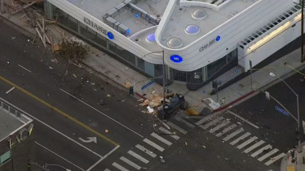 Driver Killed in West Hollywood Crash