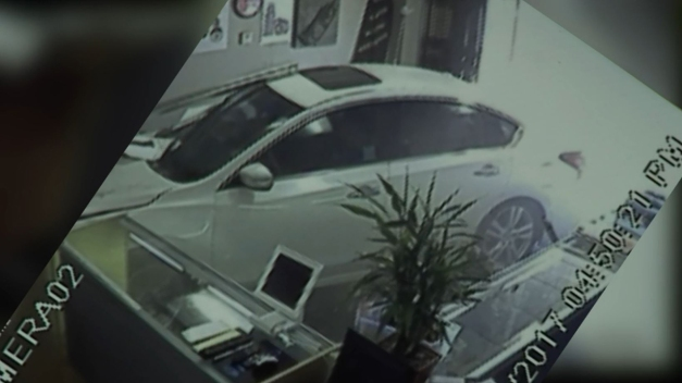Caught on Camera: Car Crashes Into Fountain Valley Business