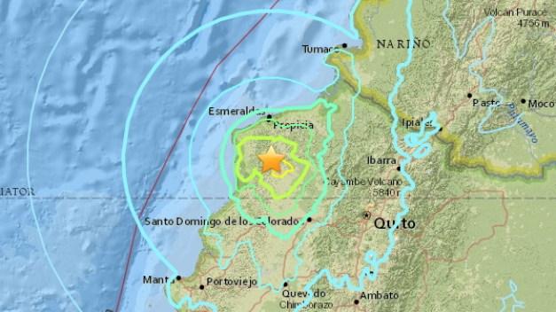 Preliminary 6.8-Magnitude Quake Hits Ecuador
