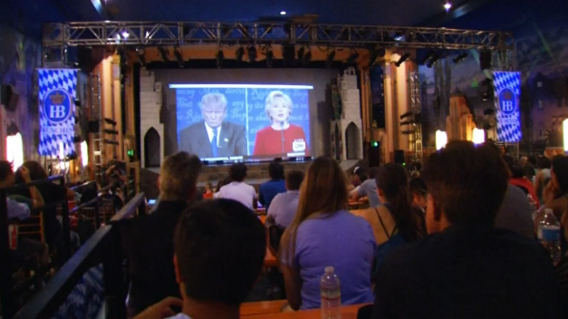 Millenials React to First Debate of 2016 Presidential Election