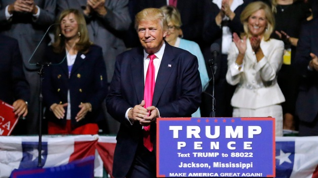 Woman Shocked by Trump's 'Bigot' Comment at Rally
