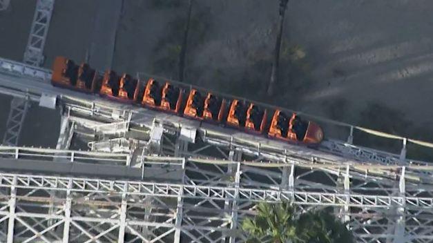 Selfie Stick Halts California Screamin' Ride