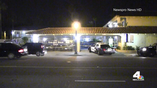 Victim's Face Grazed By Bullet at Pico-Union Motel