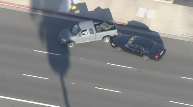 Police Chase in Orange County