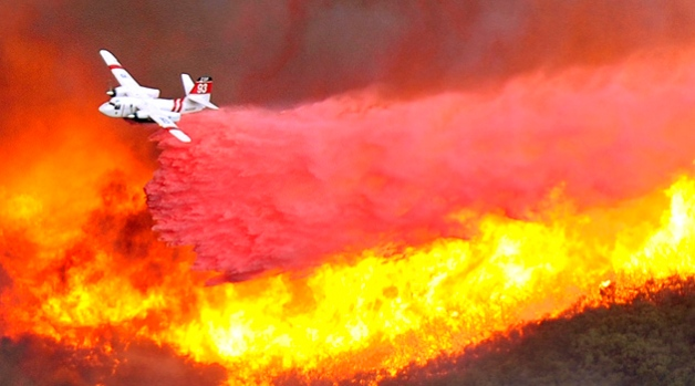 Dramatic Photos: Santa Barbara Firestorm