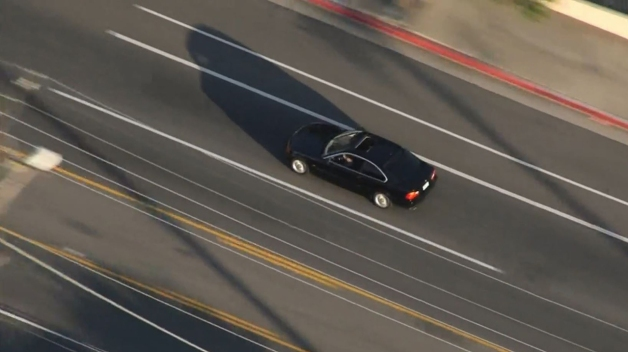 Search for Pursuit Driver, Passengers Continues in Sunland