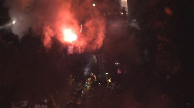 Woman in Wheelchair Rescued From Burning El Sereno Home