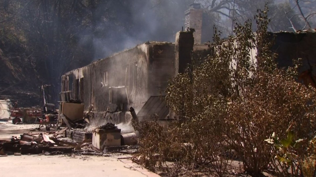Residents Speak Out After Houses Destroyed in Sand Fire