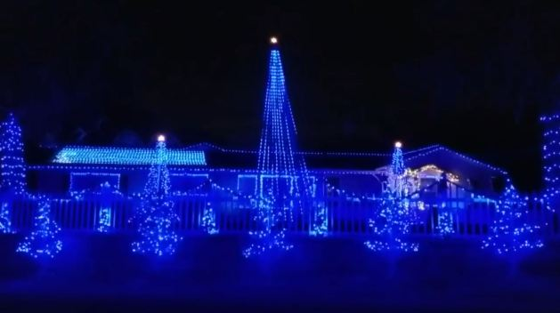 Holiday Light Display Honors Fallen Law Enforcement Officers, Public Servants