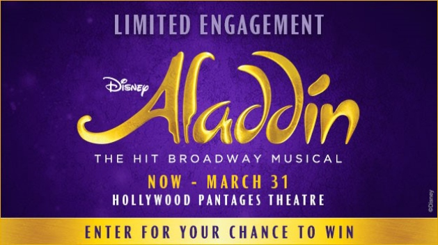 Hollywood Pantages Aladdin 2018 Sweepstakes