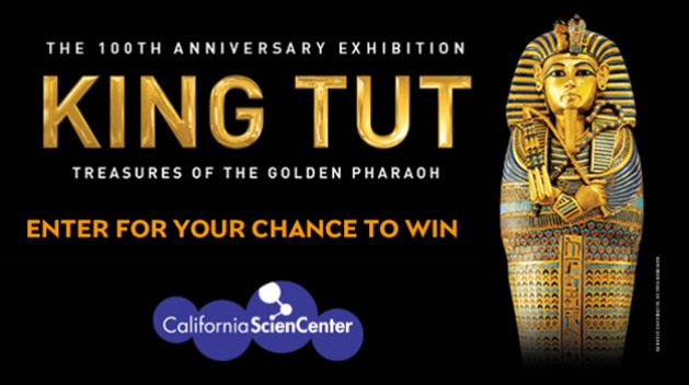 KNBC California Science Center King Tut Sweepstakes