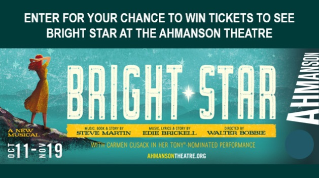 Ahmanson Theatre's Bright Star 2017 Sweepstakes