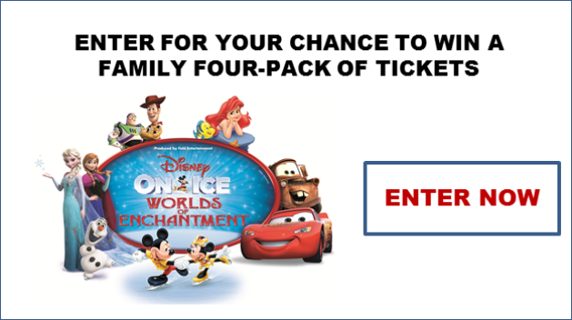 Disney on Ice Worlds of Enchantment Sweepstakes