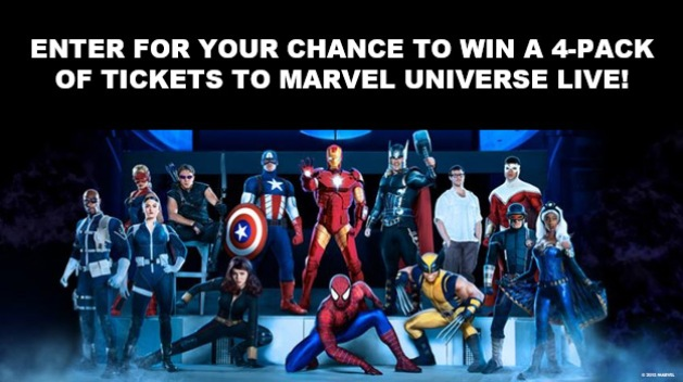 Marvel Universe LIVE! 2017 Sweepstakes