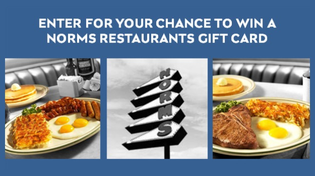 KNBC NORMS RESTAURANTS 2016 SWEEPSTAKES