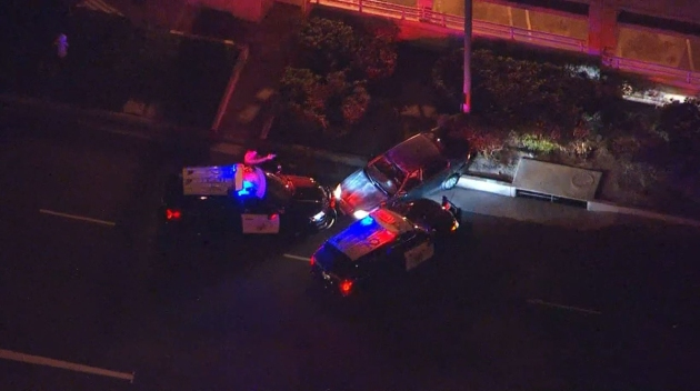 Pursuit Driver Taken Into Custody in Orange County