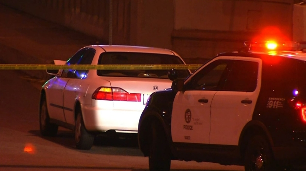 Pursuit Suspect Wounded in Police Shooting in San Pedro