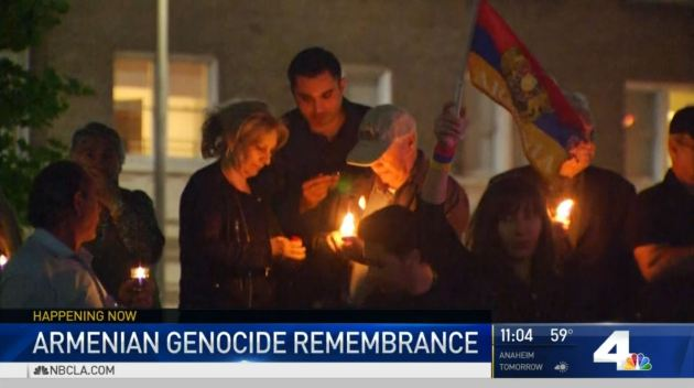 Thousands of Armenians Gather in Glendale to Commemorate Armenian Genocide
