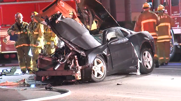 Crash Kills 1, Injures 2 in Westwood
