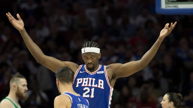 Embiid Scored 46, Lakers Fall 115-109 to Sixers
