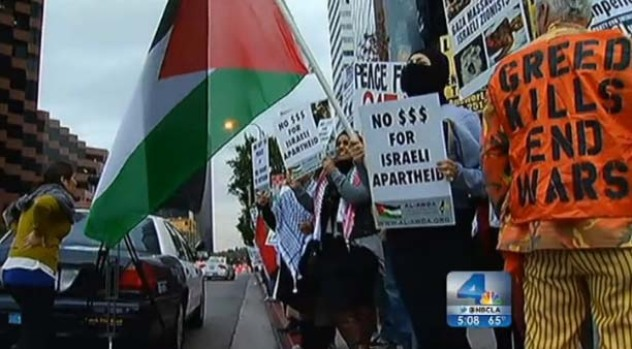 [LA] Middle East Violence Sparks Protests in LA