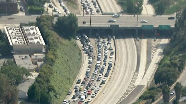 110 Freeway Closed Due to Police Activity