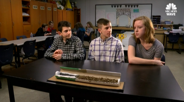 Kentucky Middle School Students Invent Green Cigarettes
