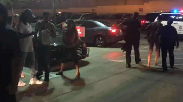 Uber Passengers Arrested After Parking Lot Rampage