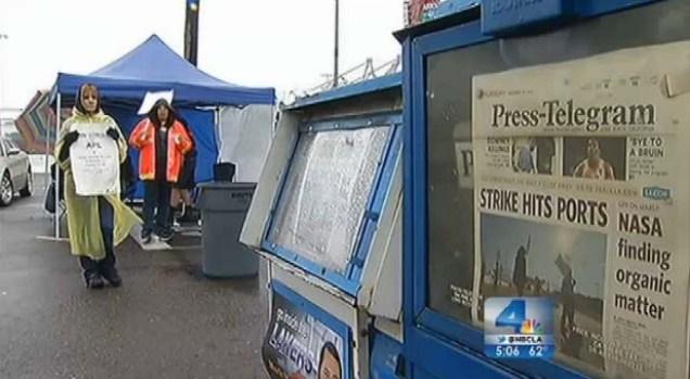 "[LA] Expert: Port Strike ""Could Impact Entire U.S. Economy"""