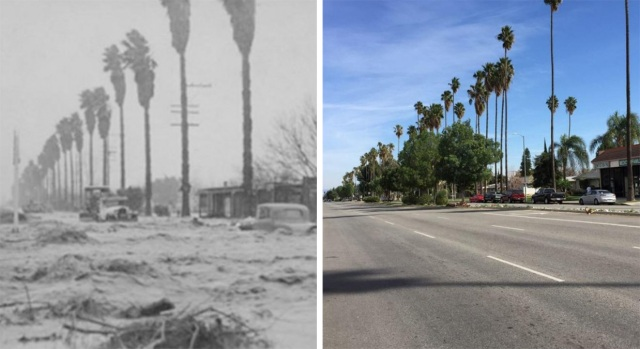 March 1938 LA River Flood: Then and Now