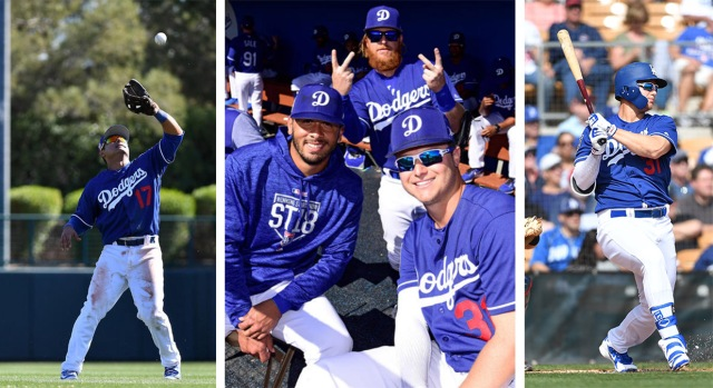 [la gallery] Getting Back Into the Swing of Things: Photos From Dodgers Spring Training in Arizona