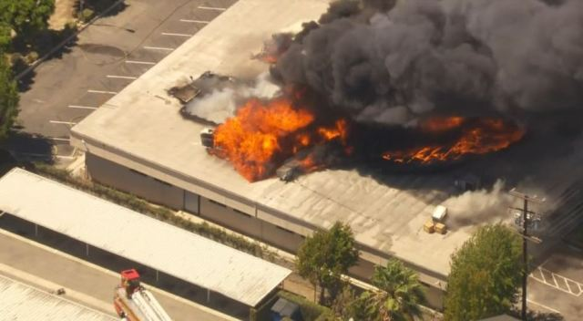 Fire Breaks Out at South LA High School