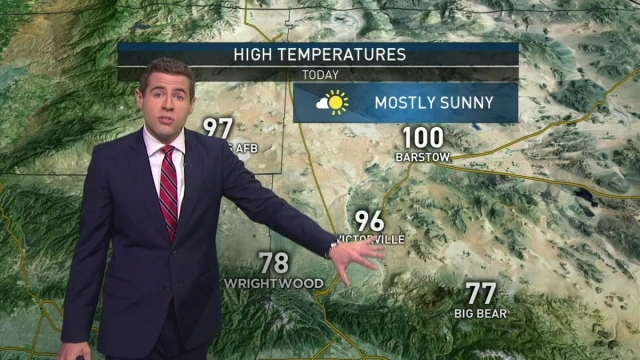 <p>Expect slightly cooler temperatures to kick off the weekend. David Biggar has your First Alert Forecast on Saturday, Aug. 19, 2017. &nbsp;</p>