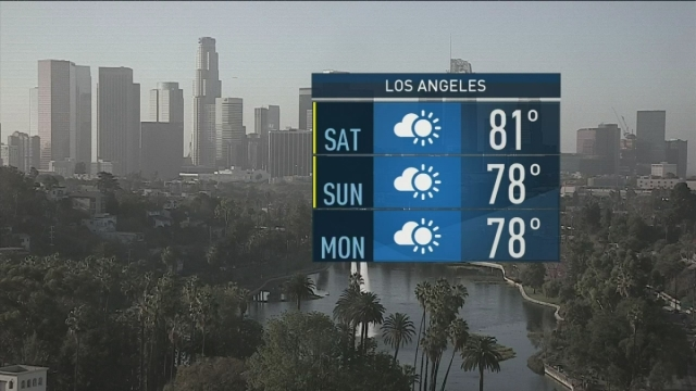 Expect cooler temperatures this weekend to kick off October. Shanna Mendiola has the latest forecast on Saturday, Oct. 1, 2016.