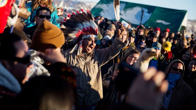 After Major Victory, Pipeline Protesters to Defy Deadline
