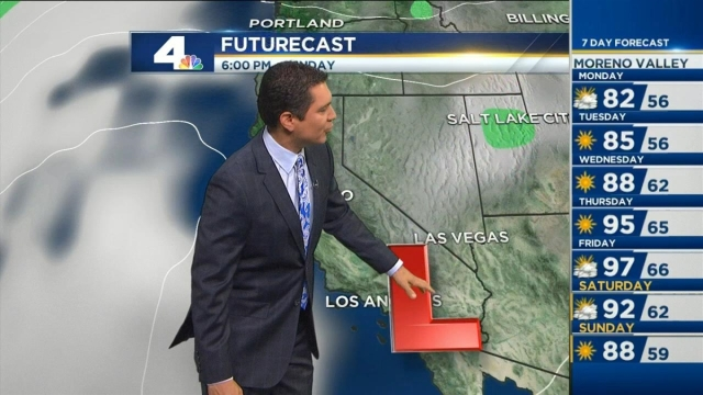 May Gray is expected to kick off Memorial Day with sunny afternoons. Anthony Yanez reports for the NBC4 News at 6 on Sunday, May 29, 2016.